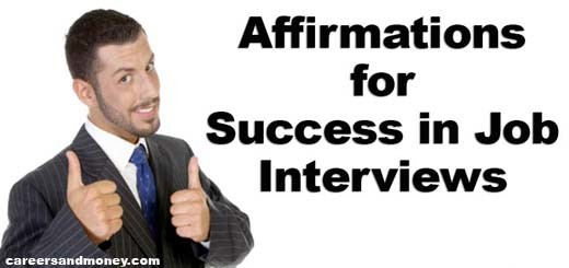 Affirmations for Success in Job Interviews