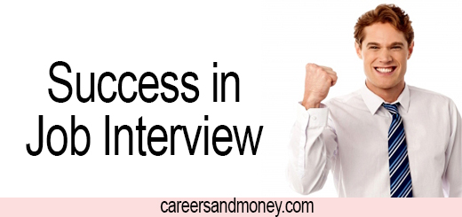 success essay for job interview
