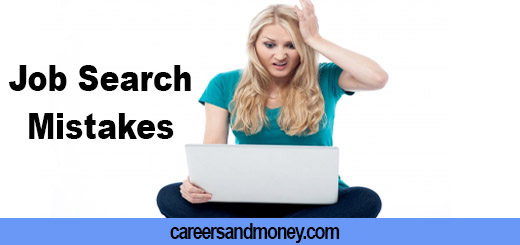 Common Mistakes to Avoid While Looking for Job