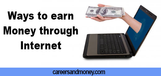 Easy ways to earn money through internet