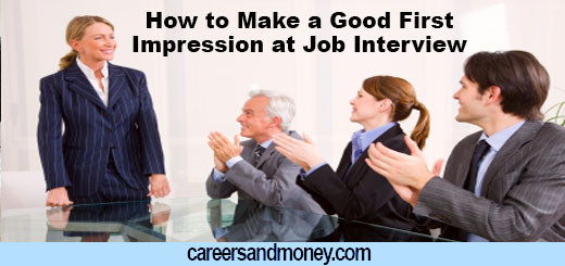 How to Make a Good First Impression at Job Interview