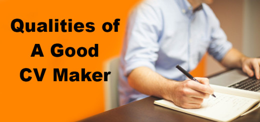 Qualities of Good CV Maker
