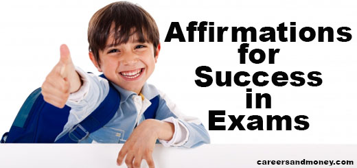 Affirmations for Exams