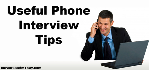 Useful Phone Interview Tips