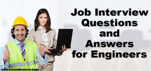 Job Interview Questions and Answers for Engineers