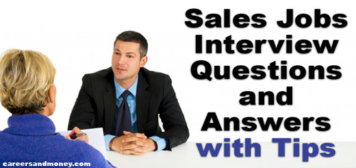 Sales Jobs Interview Questions and Answers
