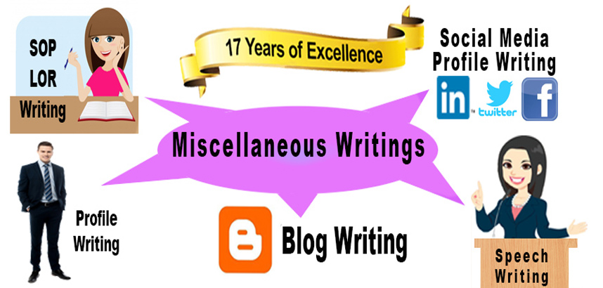 Misc Writing Services