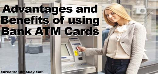 advantages and benefits of using bank atm cards