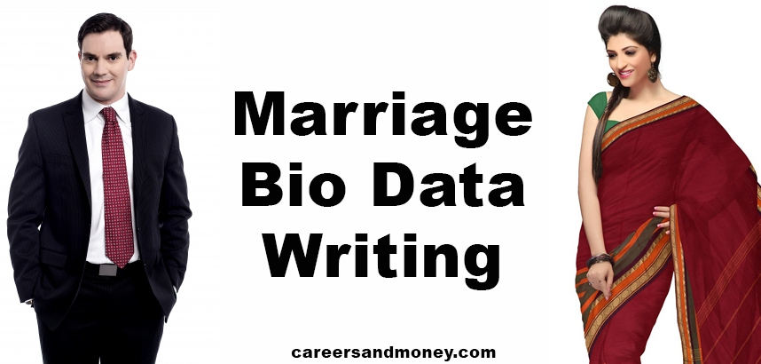 Marriage Bio Data Writing
