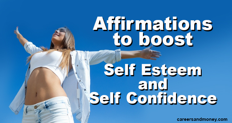 affirmations to boost self esteem and self confidence