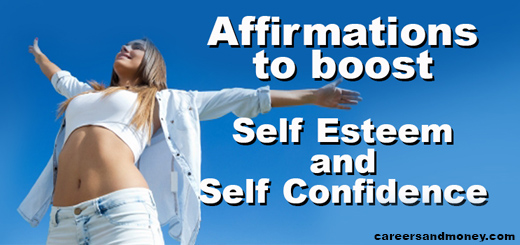 Self Esteem and Self Confidence Affirmations