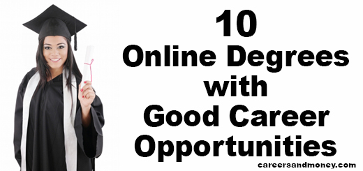Online Degrees with Good Career Opportunities