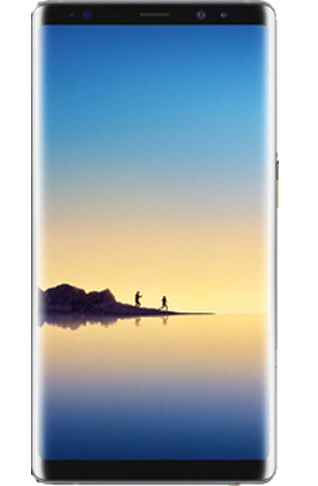 Samsung Galaxy Note 8 Android Smartphone Alternative to iPhone X