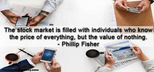 Financial Quote by Phillip Fisher
