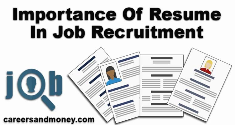 Young millennium is questioning the importance of resume in job recruitment. This focused article discusses this question and gives detailed answers.
